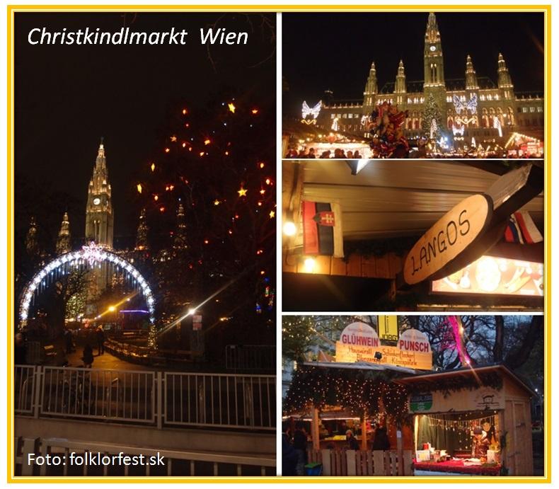 Vianočné trhy Viedeň / Wiener Christkindlmarkt 2019