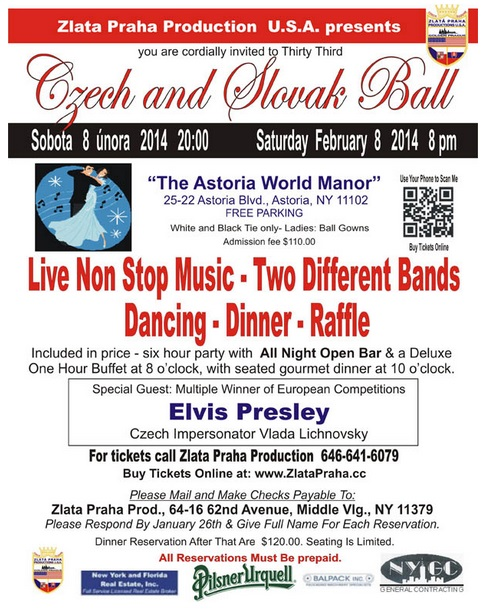 Czech and Slovak Ball Astoria, USA 2014