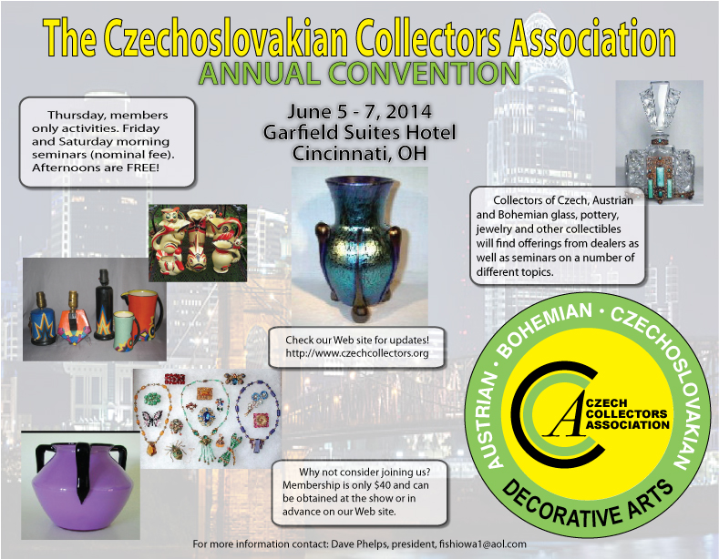 The Czechoslovakian Collectors Association -  annual convention Cincinnati 2014
