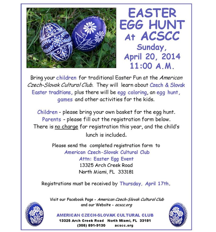 Easter Egg Hunt North Miami 2014