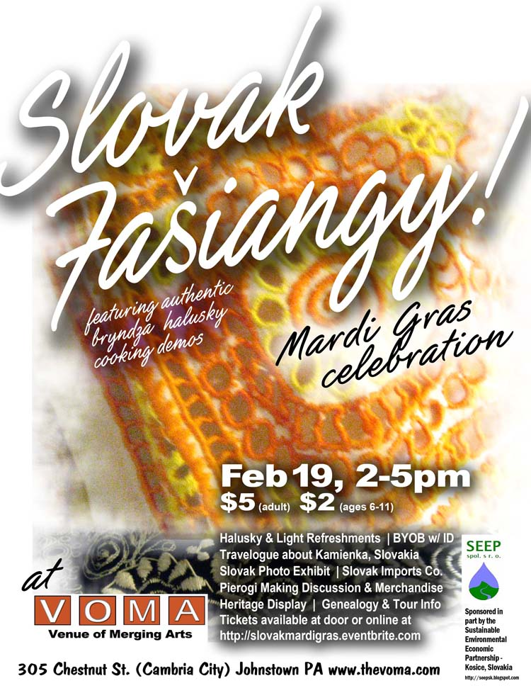 Slovak fašiangy - Mardi Gras celebration
