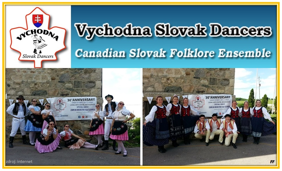 Vychodna Slovak Dancers 30th Anniversary Performance  2014 Mississauga