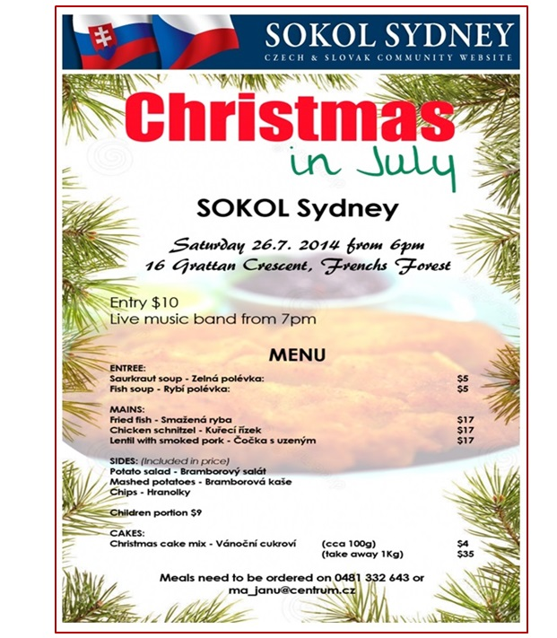 Christmas in July Sydney 2014