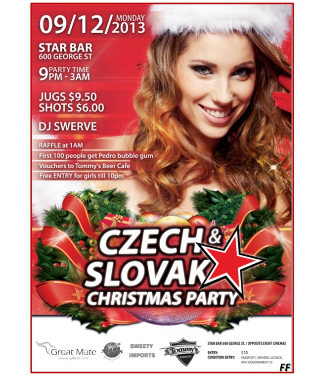 Czech & Slovak Christmas Party  Sydney 2013