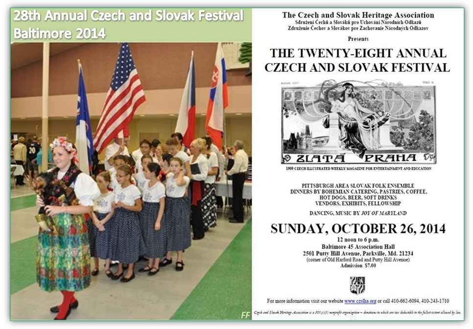 28th Annual Czech and Slovak Festival Baltimore 2014