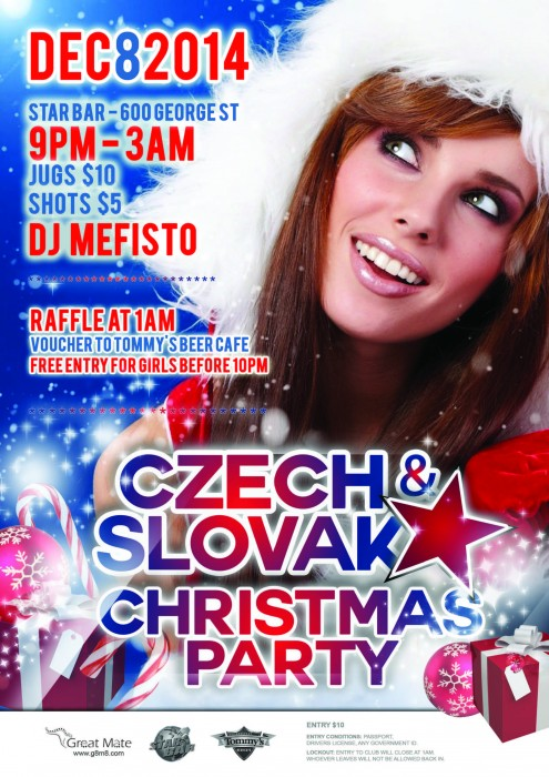 CZECH & SLOVAK XMAS Party 2014 Sydney