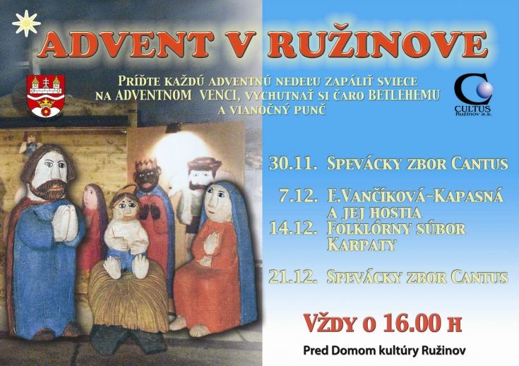 Advent v Ružinove 2014