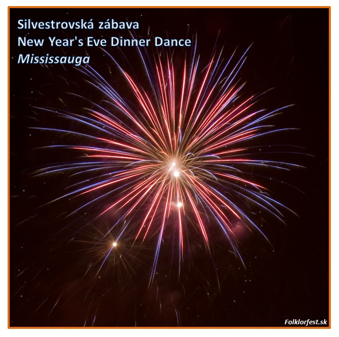 Silvestrovská zábava / New Year's Eve Dinner Dance Mississauga