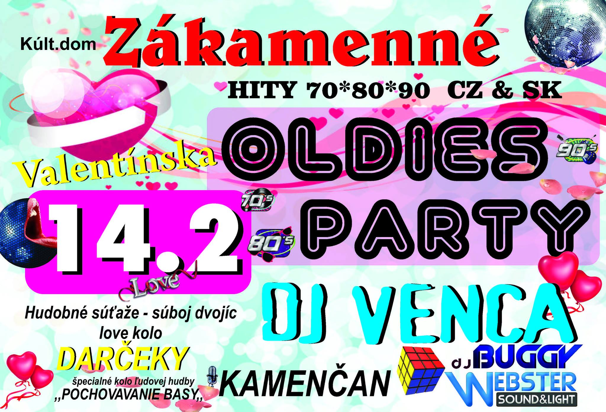 Oldies party Zákamenné