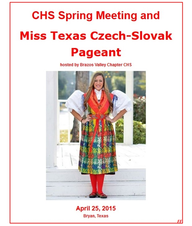 Miss Texas Czech - Slovak Pageant Texas 2015
