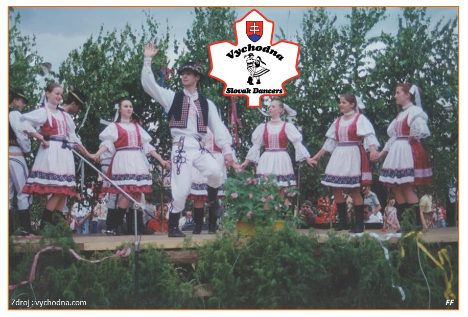 Vychodna Slovak Dancers - 75th Anniversary of Canadian Slovak League Branch 23 of Welland, Ontario 2015