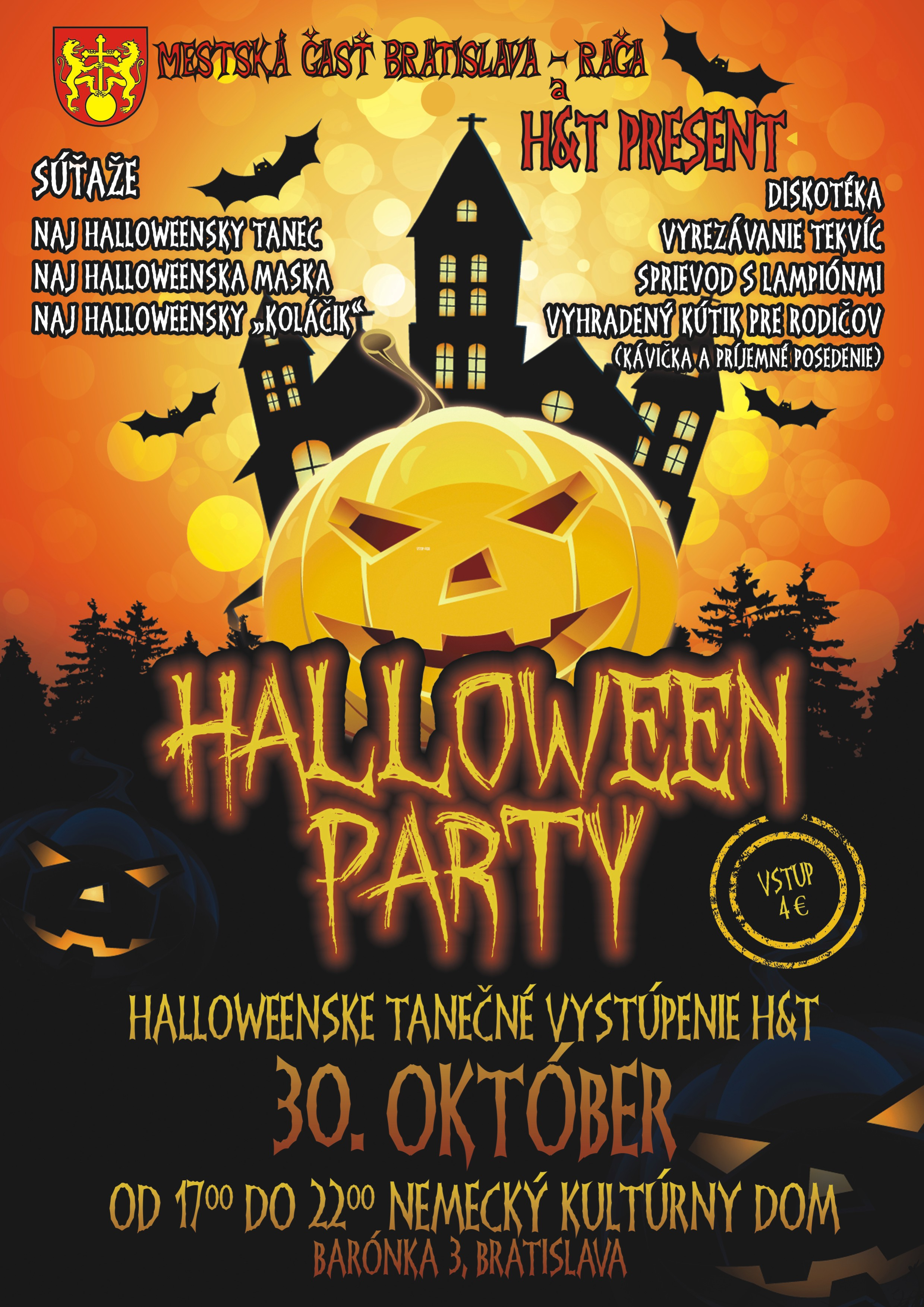 Helloween Party Rača 2015