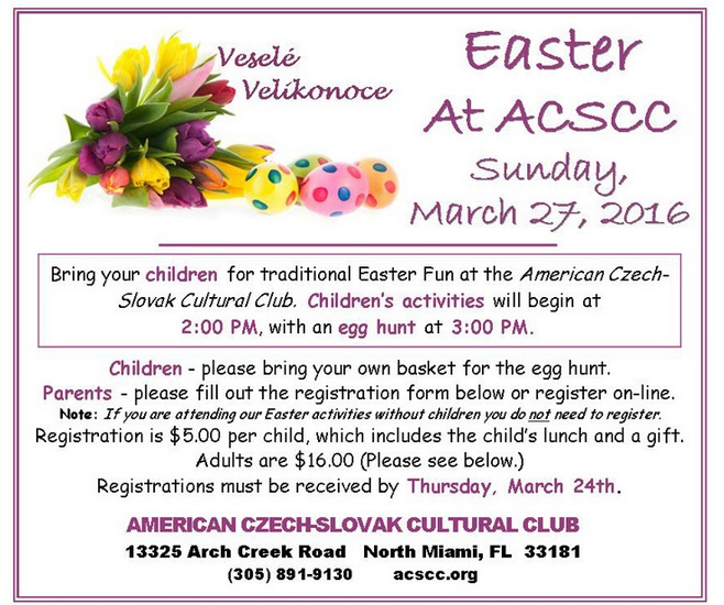 Easter At ACSCC 2016 FLORIDA