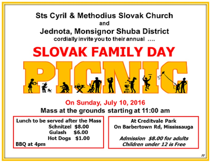 Slovak Family Day Mississauga 2016