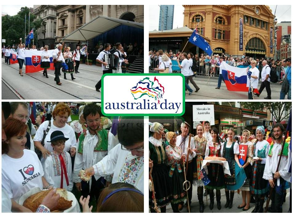 Slovaks in Australia in The 2014 Australia Day March