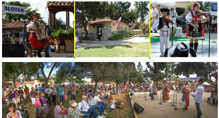 Czech-Slovak house Lawn program at Balboa Park 2016 San Diego