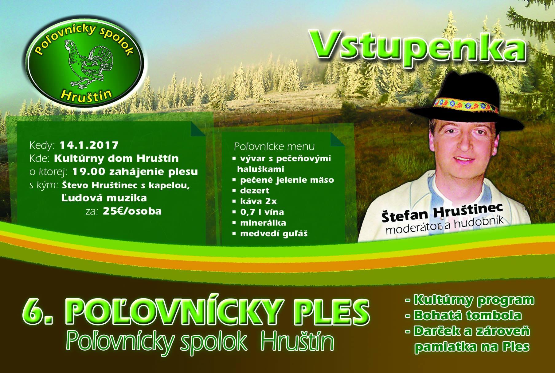 afc05a802 6. Poľovnícky ples PZ Hruštín 2017 - Hruštín   Folklorfest.sk ...