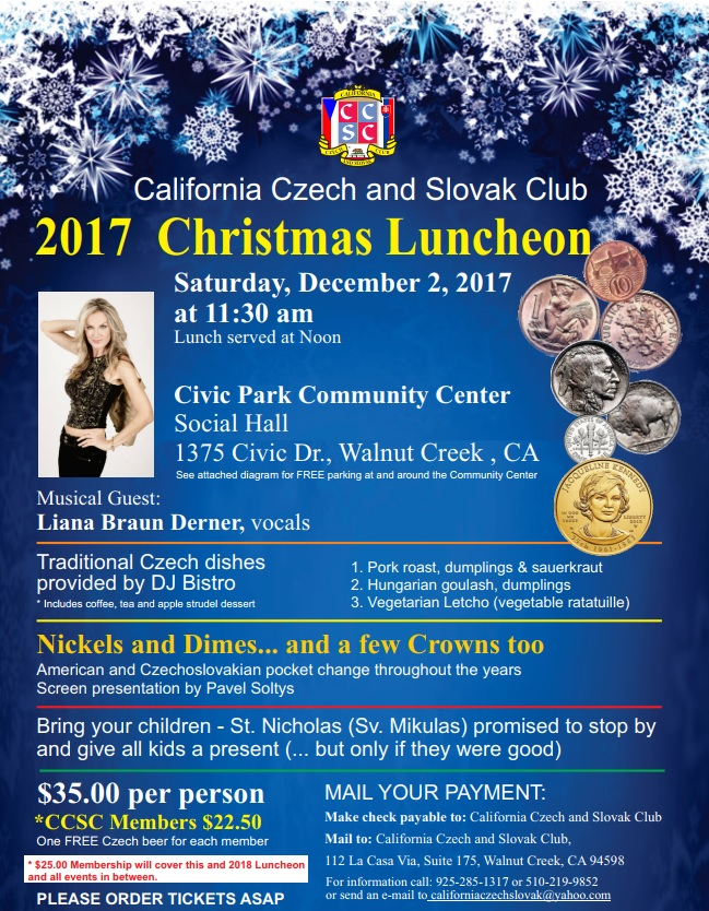 2017 Christmas Luncheon California
