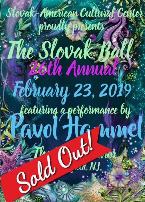 Slovak Ball 2019 New Jersey - 26th anniversary SOULD OUT !