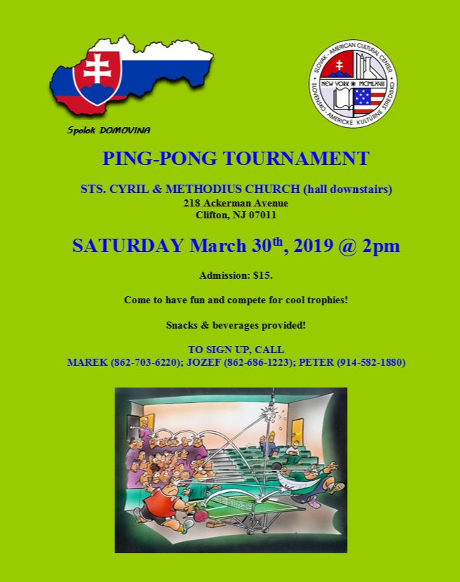 Ping-pong Tournament 2019 Clifton