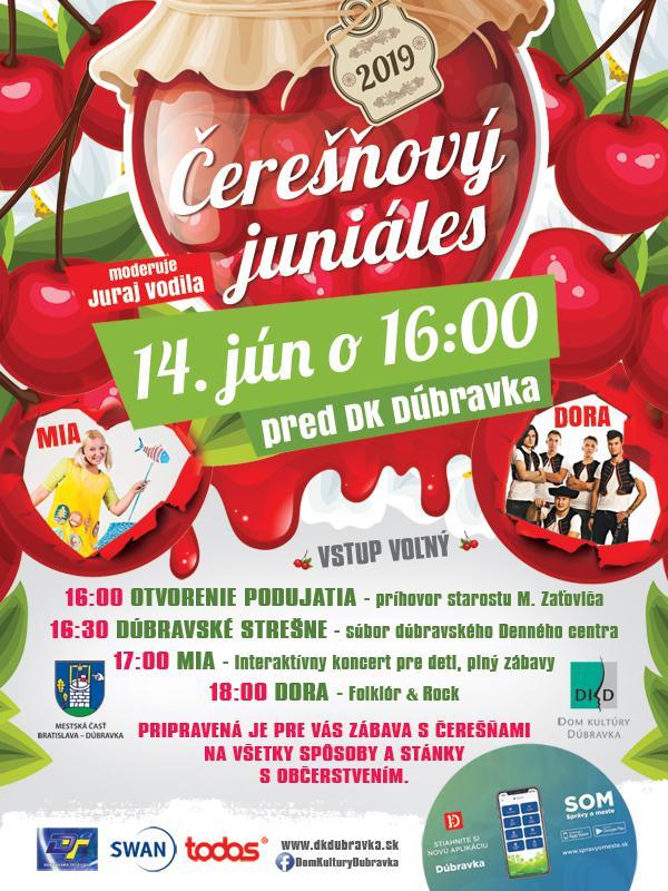 3c3f57db9 Čerešňový juniáles 2019 Dúbravka - Bratislava-Dúbravka   Folklorfest ...